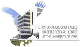 mark for THE FRATERNAL ORDER OF EAGLES DIABETES RESEARCH CENTER AT THE UNIVERSITY OF IOWA, trademark #85410685
