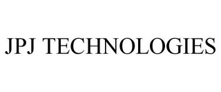 mark for JPJ TECHNOLOGIES, trademark #85410849