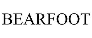 mark for BEARFOOT, trademark #85412199