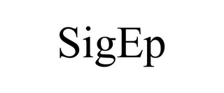 mark for SIGEP, trademark #85412488
