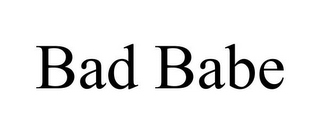 mark for BAD BABE, trademark #85412963