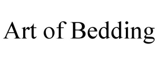 mark for ART OF BEDDING, trademark #85413334