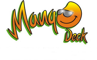 mark for MANGO DECK, trademark #85413907