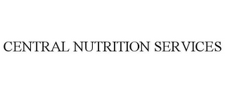mark for CENTRAL NUTRITION SERVICES, trademark #85414147
