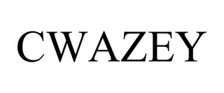 mark for CWAZEY, trademark #85414632