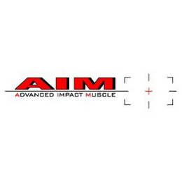 mark for AIM ADVANCED IMPACT MUSCLE, trademark #85414964