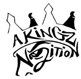 mark for A KINGZ N2ITION, trademark #85415337