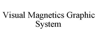 mark for VISUAL MAGNETICS GRAPHIC SYSTEM, trademark #85415538