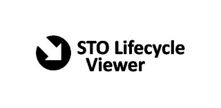 mark for STO LIFECYCLE VIEWER, trademark #85415681