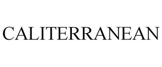 mark for CALITERRANEAN, trademark #85415805