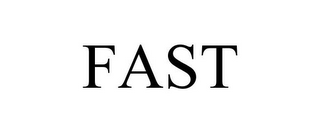 mark for FAST, trademark #85415875