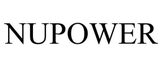 mark for NUPOWER, trademark #85415950