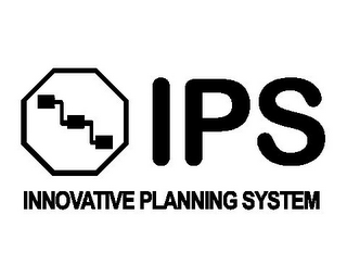 mark for IPS INNOVATIVE PLANNING SYSTEM, trademark #85416074