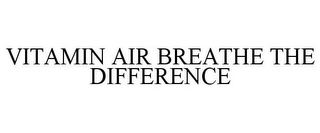 mark for VITAMIN AIR BREATHE THE DIFFERENCE, trademark #85416868