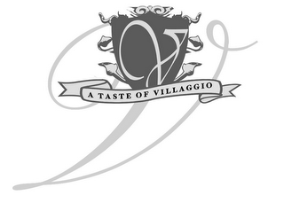 mark for V V A TASTE OF VILLAGGIO, trademark #85416973