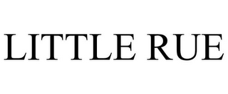mark for LITTLE RUE, trademark #85418722