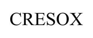 mark for CRESOX, trademark #85418779