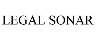 mark for LEGAL SONAR, trademark #85418974