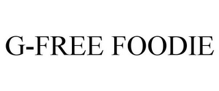 mark for G-FREE FOODIE, trademark #85419211