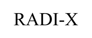 mark for RADI-X, trademark #85419242