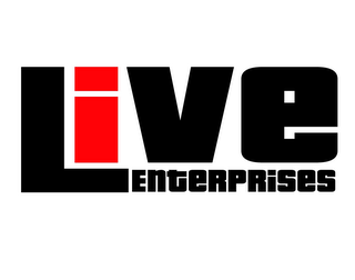 mark for LIVE ENTERPRISES, trademark #85419518