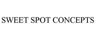 mark for SWEET SPOT CONCEPTS, trademark #85419613