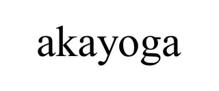 mark for AKAYOGA, trademark #85420858