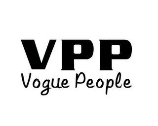 mark for VPP VOGUE PEOPLE, trademark #85420943