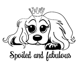 mark for SPOILED AND FABULOUS, trademark #85421234
