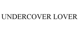 mark for UNDERCOVER LOVER, trademark #85421347