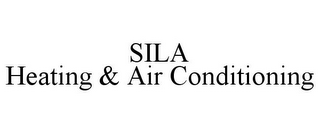 mark for SILA HEATING & AIR CONDITIONING, trademark #85421368