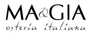 mark for MA&GIA OSTERIA ITALIANA, trademark #85421478