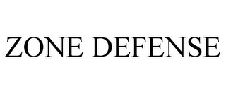 mark for ZONE DEFENSE, trademark #85421752