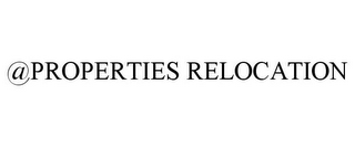 mark for @PROPERTIES RELOCATION, trademark #85421782