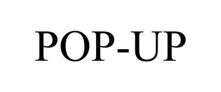 mark for POP-UP, trademark #85421876