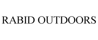 mark for RABID OUTDOORS, trademark #85422066