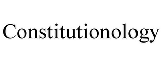 mark for CONSTITUTIONOLOGY, trademark #85422119