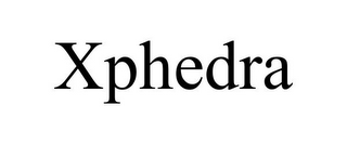 mark for XPHEDRA, trademark #85422156