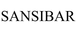 mark for SANSIBAR, trademark #85422286