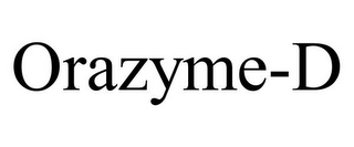 mark for ORAZYME-D, trademark #85422916