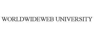 mark for WORLDWIDEWEB UNIVERSITY, trademark #85422994