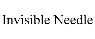 mark for INVISIBLE NEEDLE, trademark #85423048