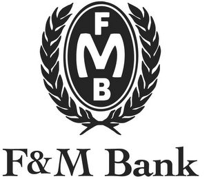 mark for FMB F&M BANK, trademark #85423246