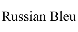mark for RUSSIAN BLEU, trademark #85423980