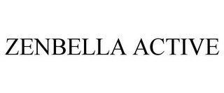 mark for ZENBELLA ACTIVE, trademark #85424087