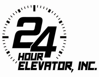mark for 24 HOUR ELEVATOR, INC., trademark #85424110