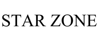 mark for STAR ZONE, trademark #85424203