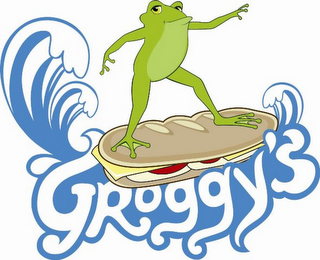 mark for GROGGY'S, trademark #85424247