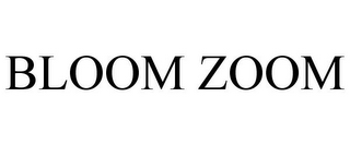 mark for BLOOM ZOOM, trademark #85424839
