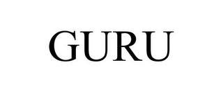 mark for GURU, trademark #85425319